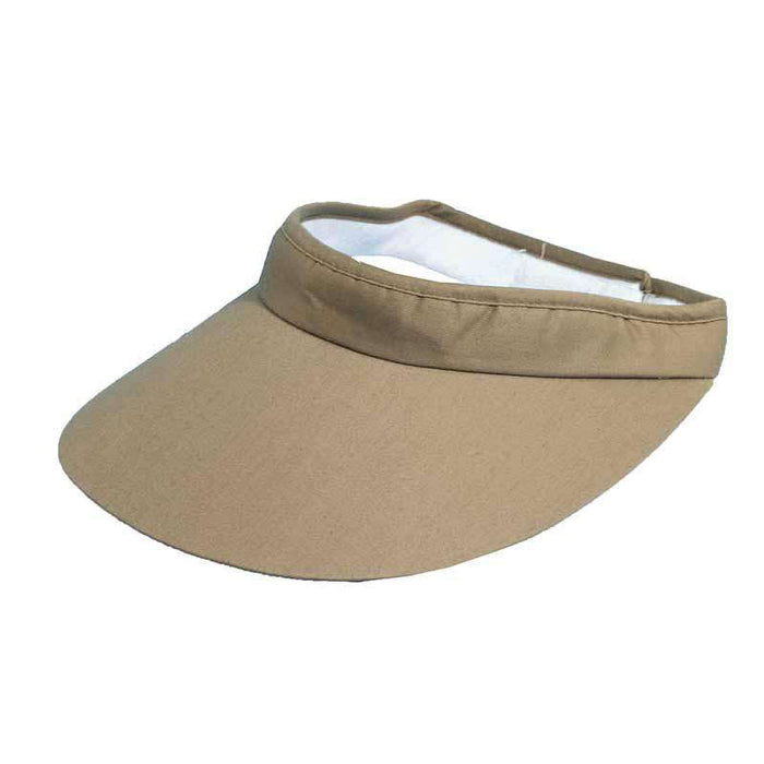DPC Global Big Brim Cotton Sun Visor - Unisex - SetarTrading Hats