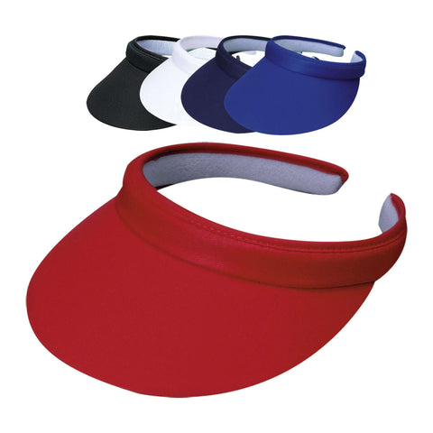Tropical Trends Cotton Clip-on Sun Visor