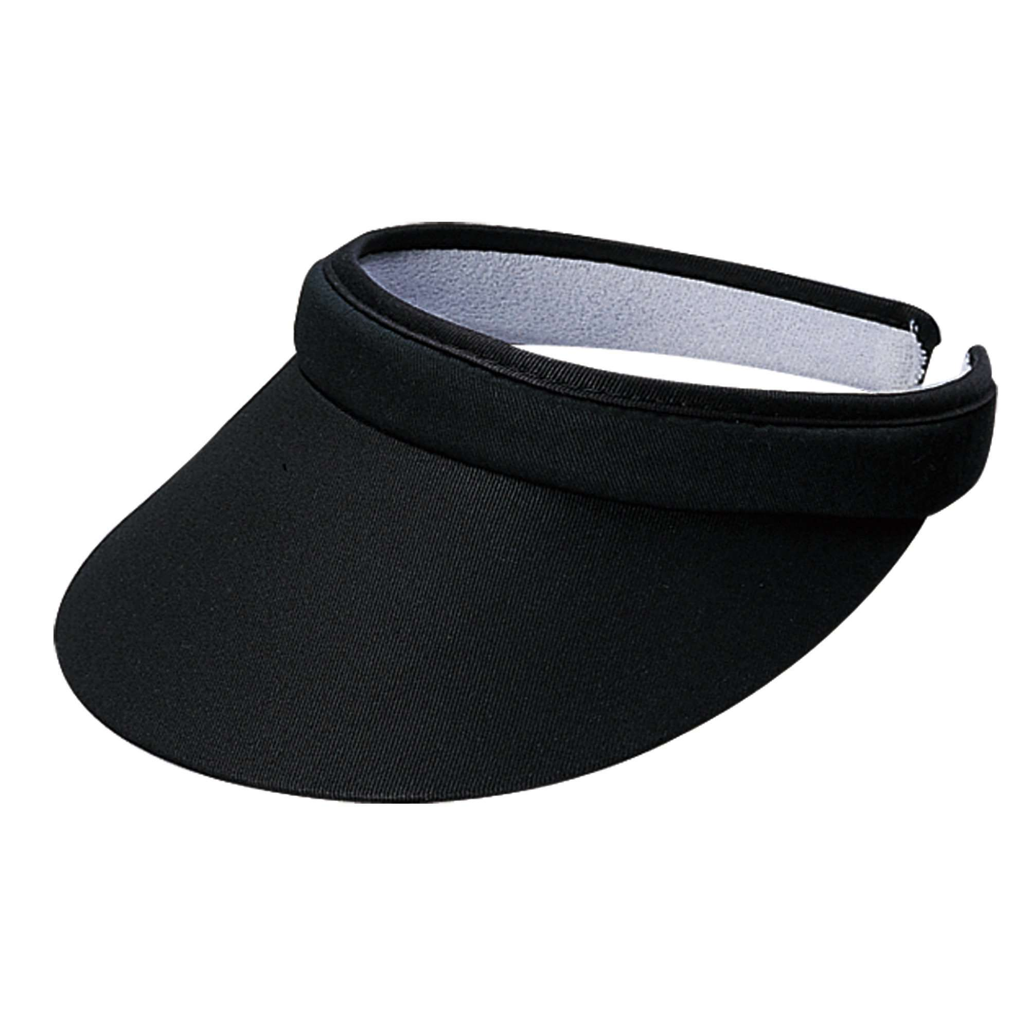 Tropical Trends Cotton Clip-on Sun Visor - SetarTrading Hats