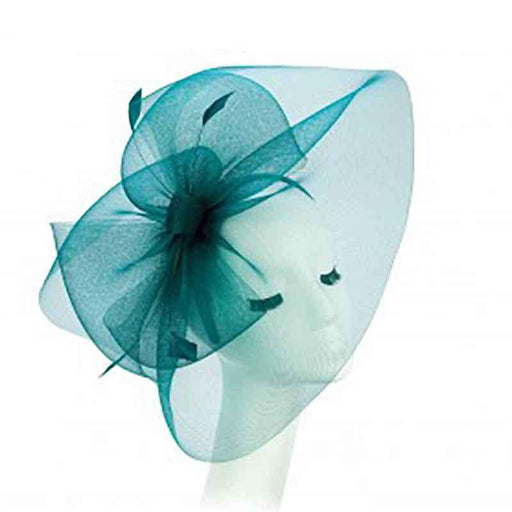 Large Wavy Tulle Veil Fascinator - Something Special Collection