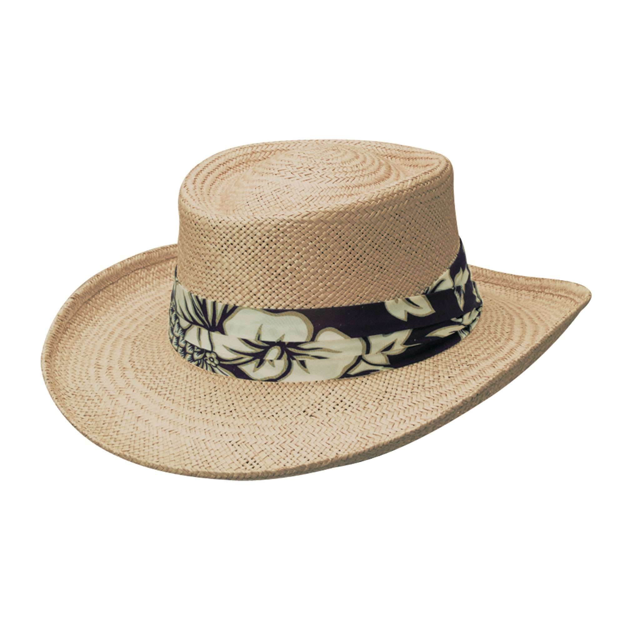 Scala Palm Gambler with Tropical Band - SetarTrading Hats