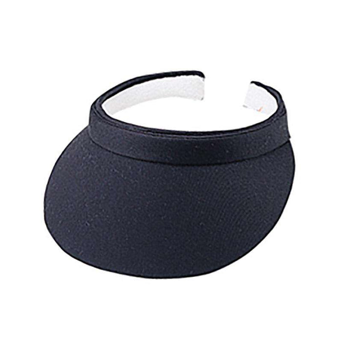 "Cotton Clip-On Sun Visor - 3"" Peak - SetarTrading Hats"
