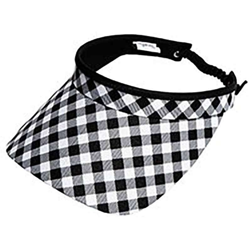 Checkmate Golf Sun Visor with Coil Lace by GloveIt - SetarTrading Hats