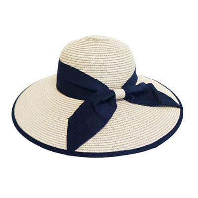 Double Ribbon Bow Sun Hat