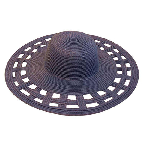 Cutout Brim Summer Hat
