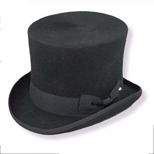 Victorian Shape Wool Felt Top Hat by JSA