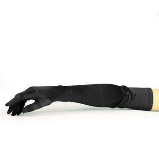 Satin Elbow Length Opera Gloves - SetarTrading Hats