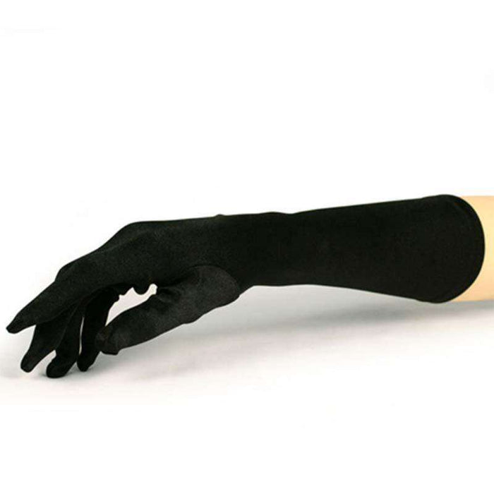 Satin Mid-Arm Length Opera Gloves - SetarTrading Hats