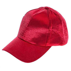 Shimmery Satin Fashion Baseball Cap - DNMC