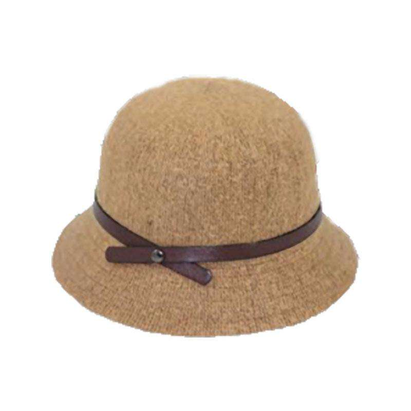Knit Wool Bucket Hat by JSA