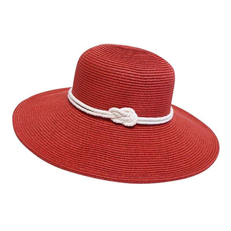 Nautical Sun Hat - Red - SetarTrading Hats