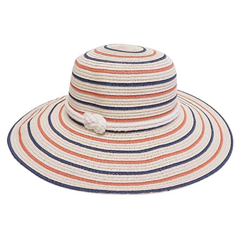 Nautical Sun Hat - Striped - SetarTrading Hats