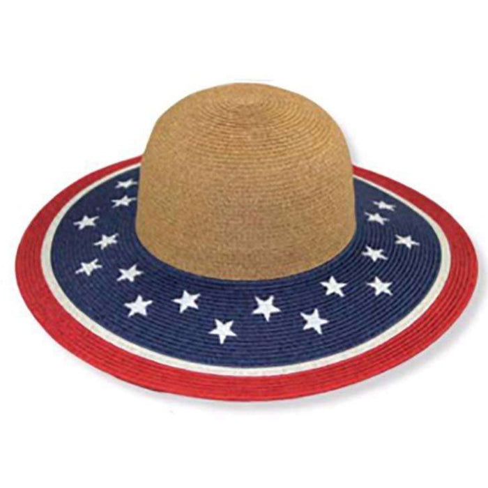 American Flag Sun Hat by JSA - SetarTrading Hats