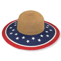 American Flag Sum Hat by JSA