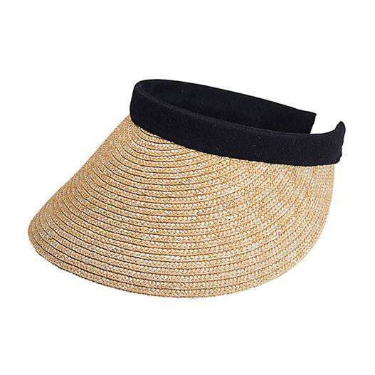 Straw Clip-on Sun Visor - SetarTrading Hats
