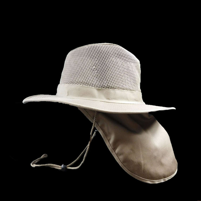 Safari/Outback with mesh crown and sunshield - SetarTrading Hats