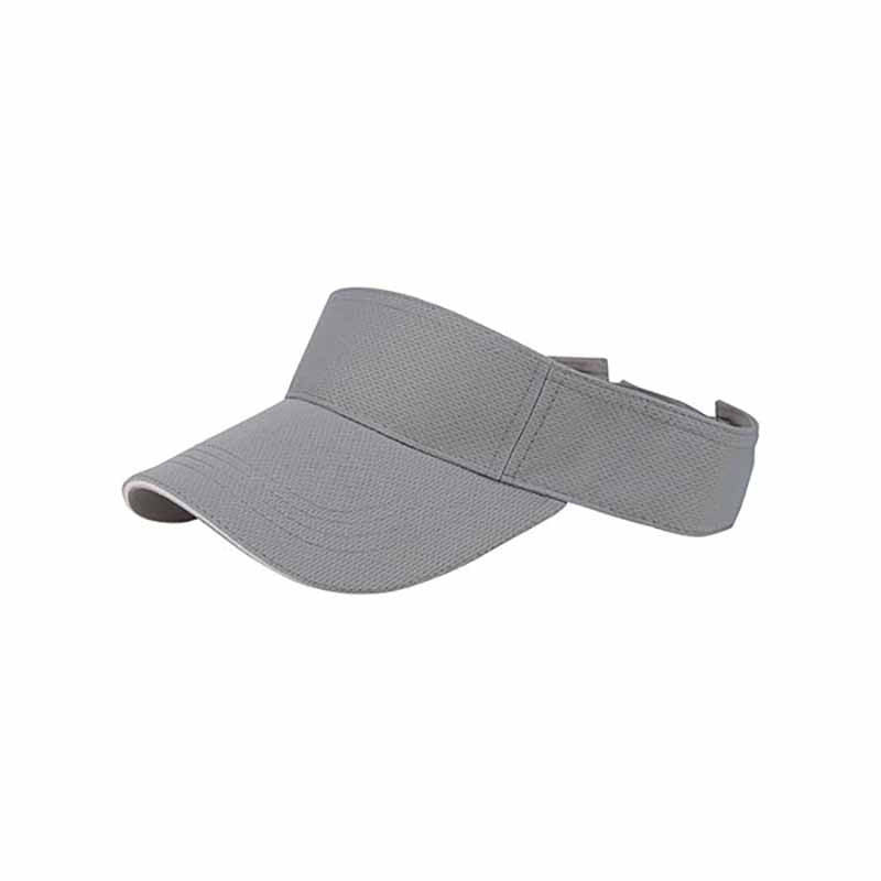 Athletic Mesh Sun Visor with Sandwich Bill - Mega Cap