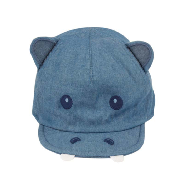 Cotton Hippopotamus Cap for Infants - Angela & Williams Hats