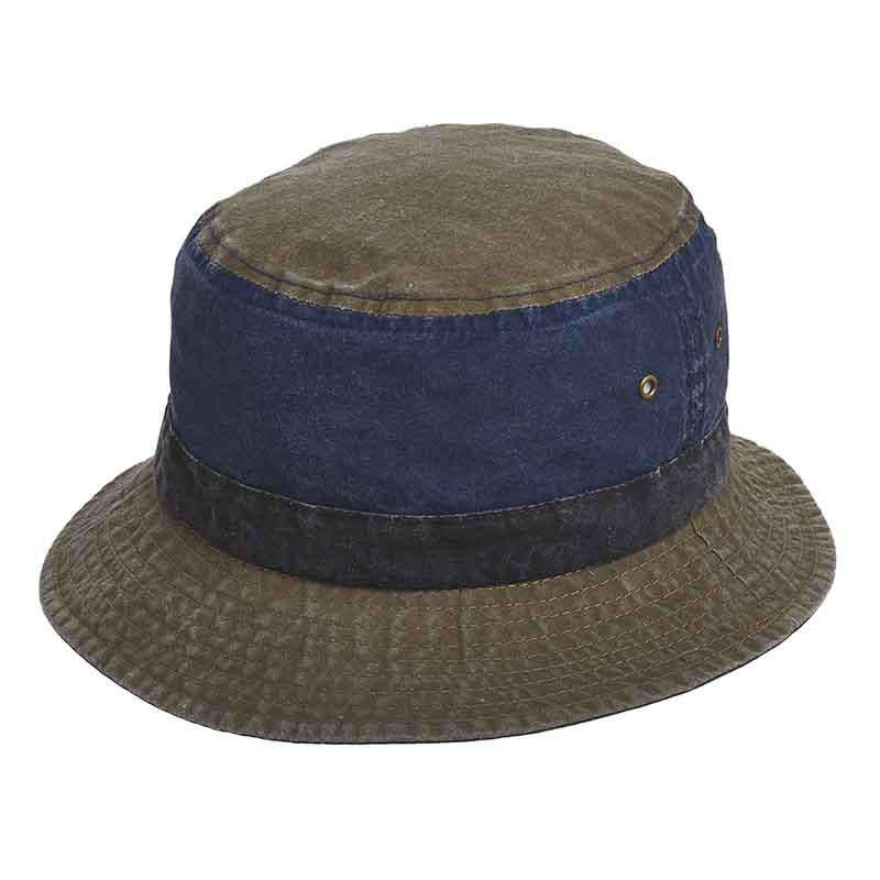 Pigment Dyed Twill Bucket Hat by DPC Global