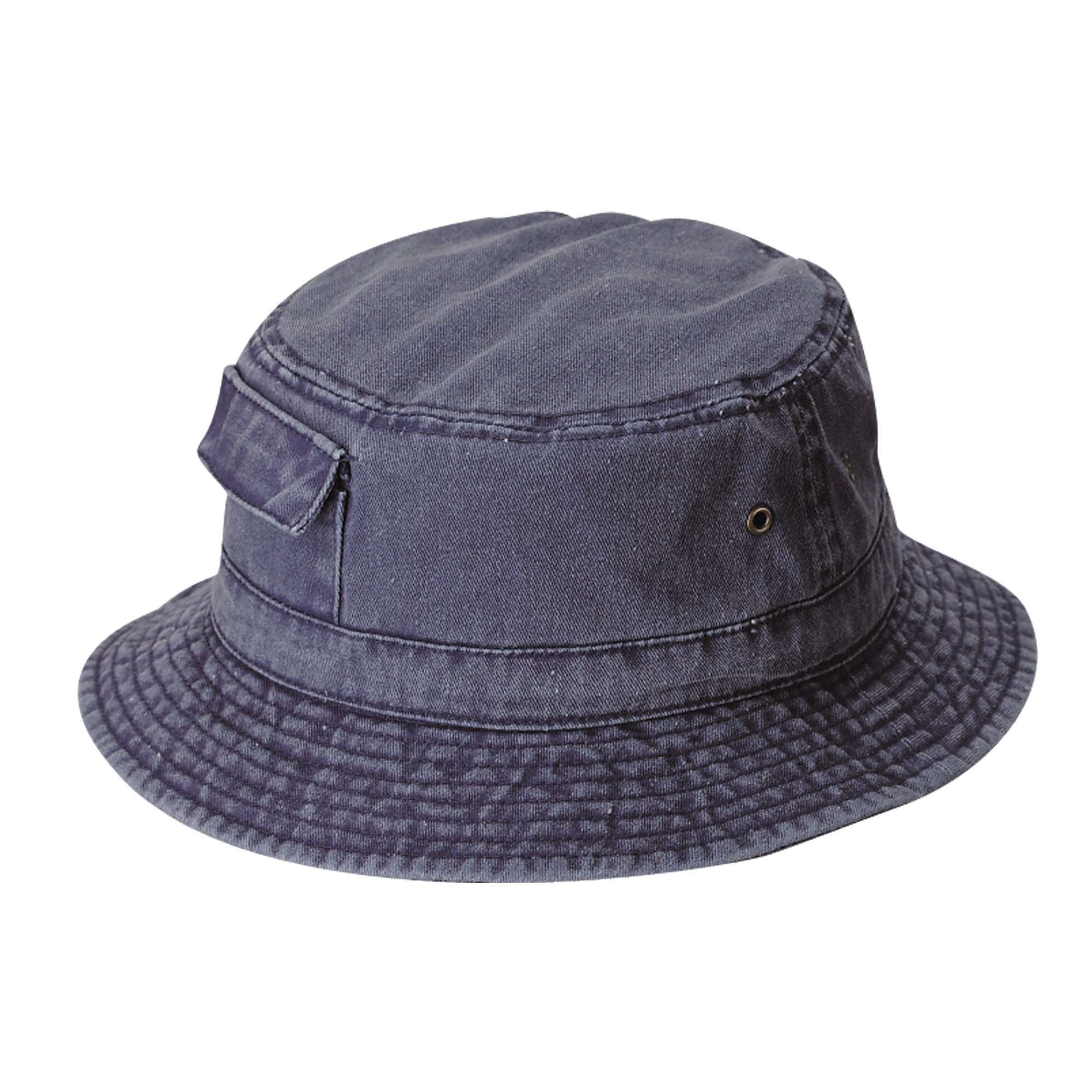 2250b753adb DPC Dyed Twill Bucket Hat with Side Pocket - SetarTrading Hats