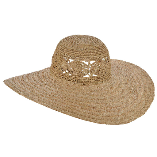 Zuma Fancy Weave Raffia Sun Hat - Brooklyn Hats - SetarTrading Hats