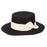 Black Wool Felt Gaucho Hat - Seville by Brooklyn Hats