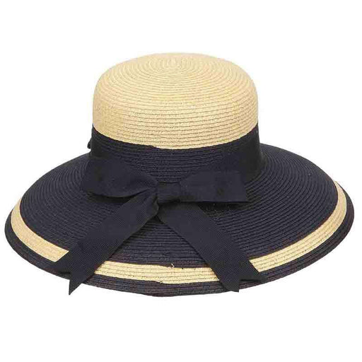 Tiffany Style Two Tone Summer Hat by Karen Keith