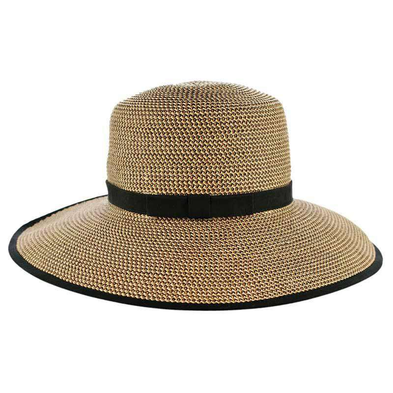 Karen Keith Tweed Straw Facesaver - SetarTrading Hats