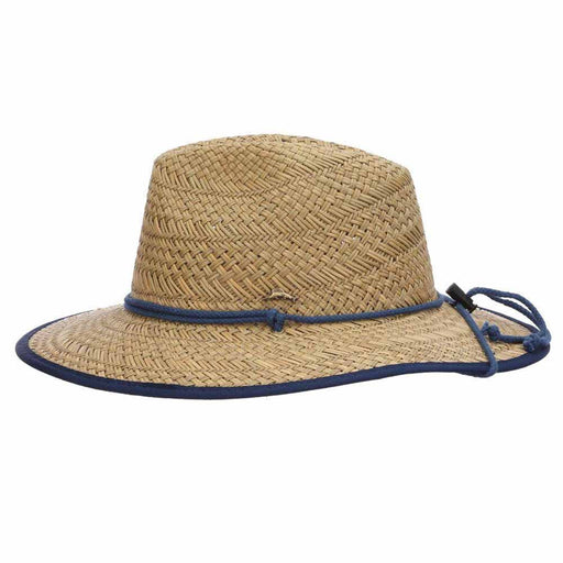Bondi Rush Straw Safari Hat with Chin Cord - Tommy Bahama
