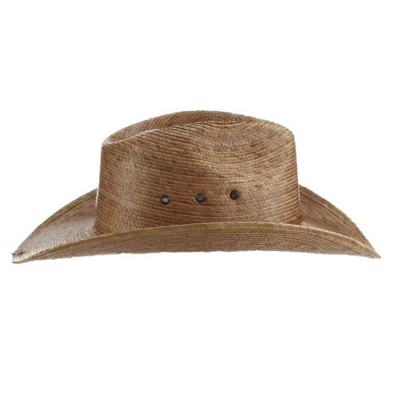Braided Palm Leaf Outback Hat - Dorfman Pacific Hats