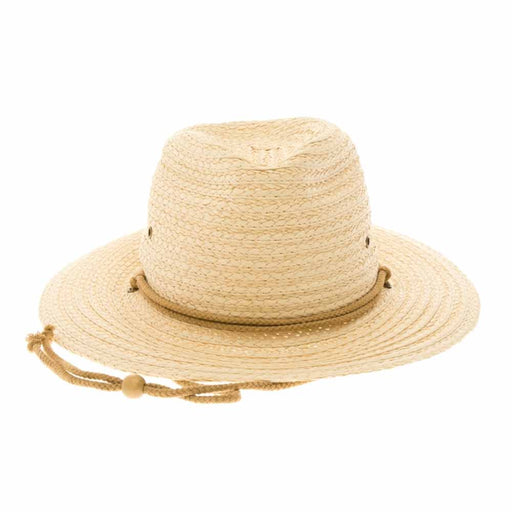 Unisex Braided Toyo Gardening Hat - Boardwalk Style