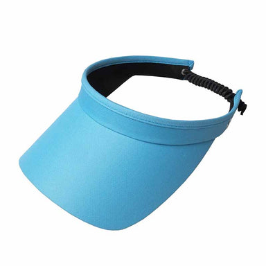 Bright Colors Golf Sun Visor with Coil Lace - GloveIt® Golf Hats