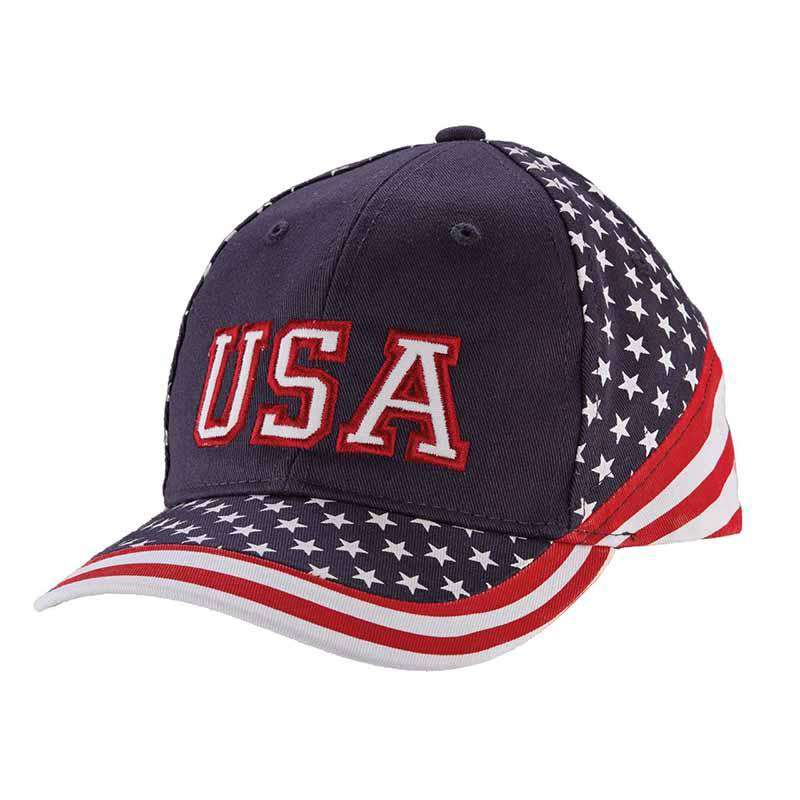 DPC Kid's Twill USA Baseball Cap - SetarTrading Hats