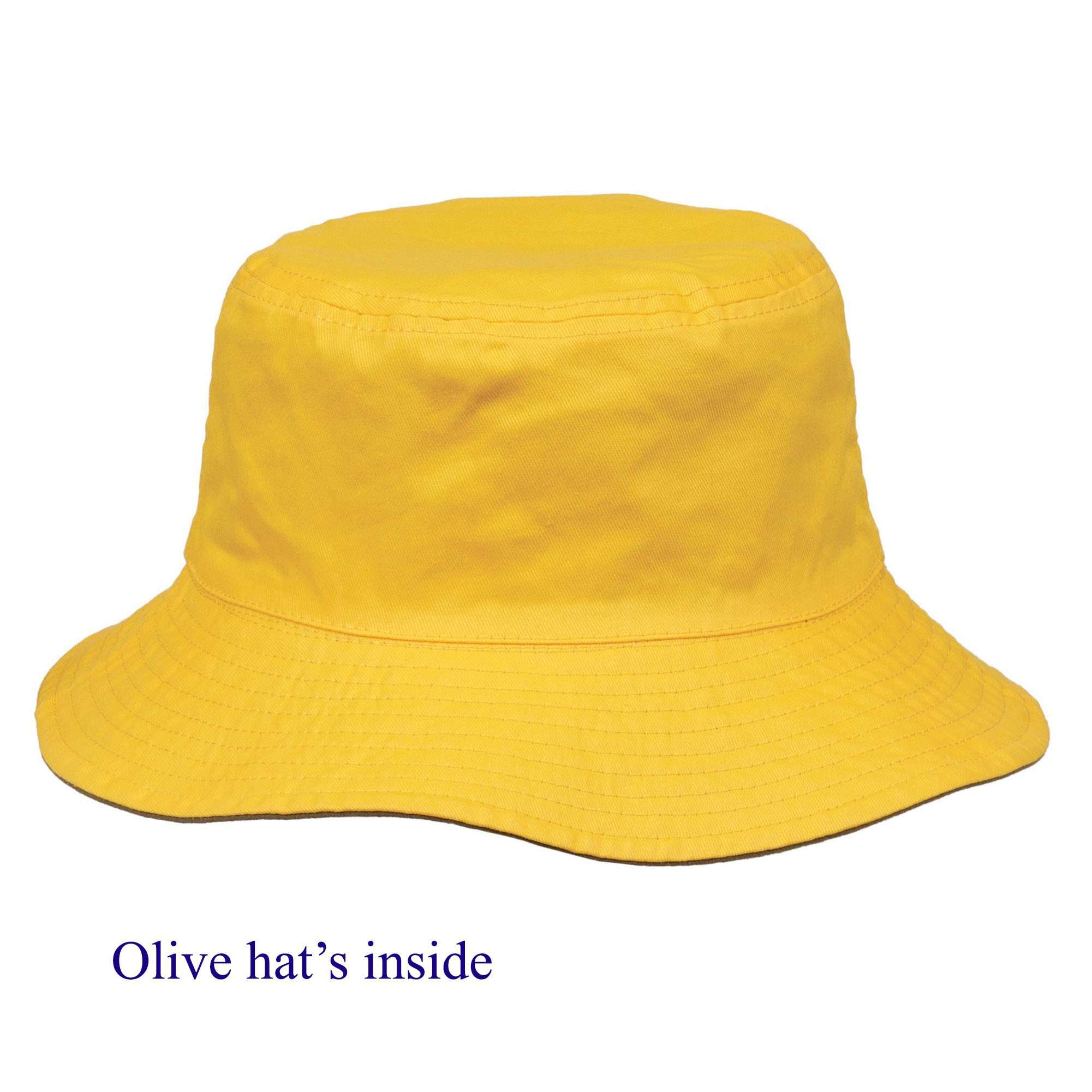 Reversible Cotton Bucket Hat Unisex - SetarTrading Hats