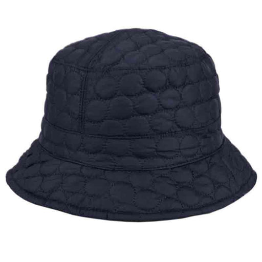 Quilted Stitch Bucket Hat with Toggle - Angela & William
