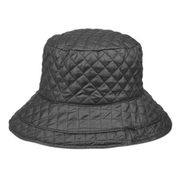 Quilted Rain Hat with Toggle - Angela & William