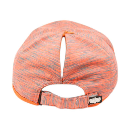 Ponytail Hole Zipper Yoga Cap - Angela & William
