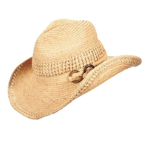 Raffia Western Hat by Callanan