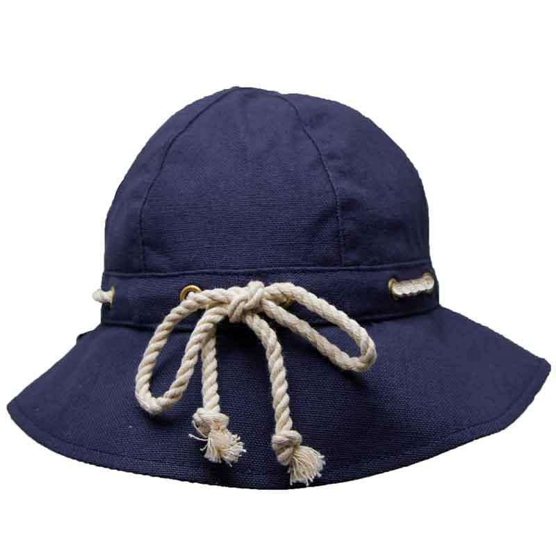 Nautical Cloche with Rope Tie by Callanan