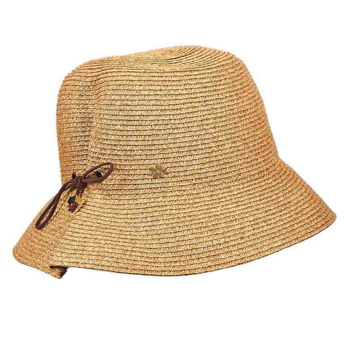 Summer Cloche with Wax Cord - Cappelli Straworld