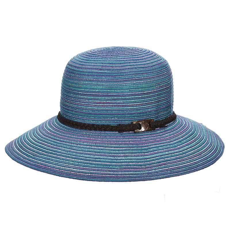 Polybraid Big Brim byCappelli - SetarTrading Hats
