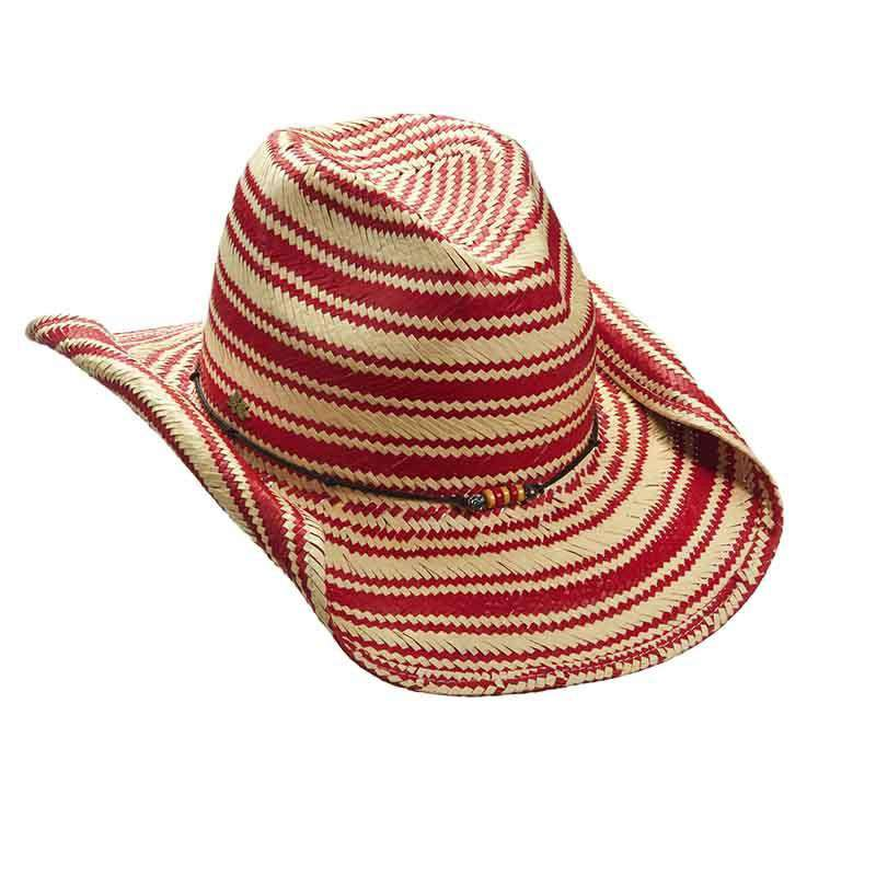 Striped Toyo Western Hat by Cappelli Straworld - SetarTrading Hats