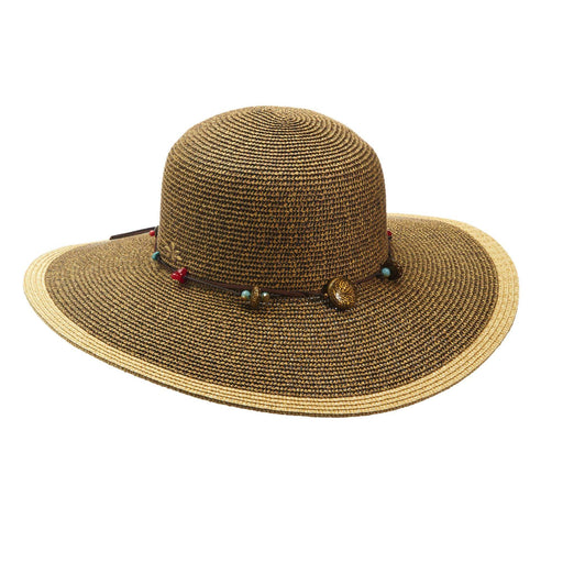 Cappelli Summer Floppy Tribal Accents - SetarTrading Hats