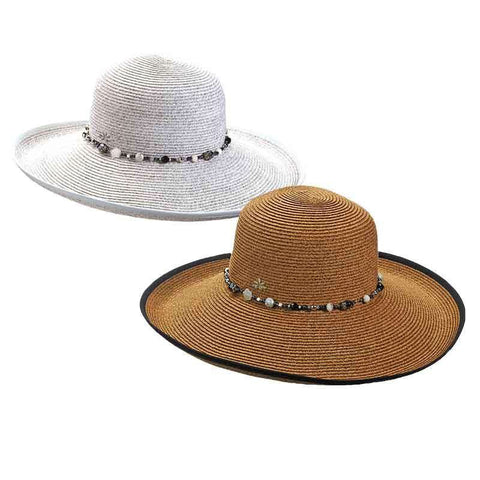 Large Shapeable Brim Sun Hat by Cappelli Straworld