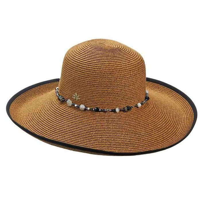Large Shapeable Brim Sun Hat by Cappelli Straworld - SetarTrading Hats