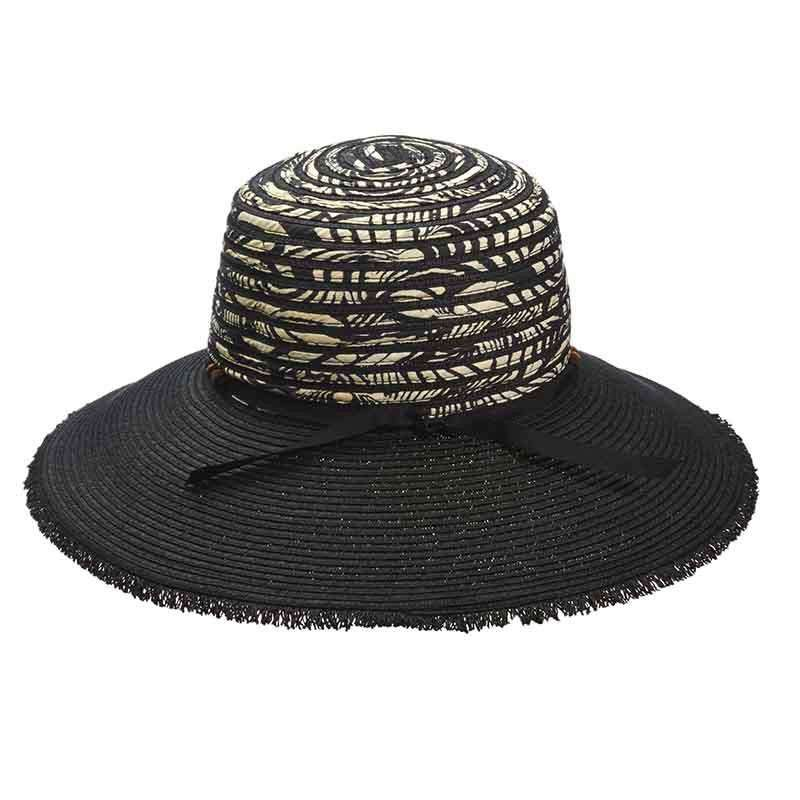 Fringe Edge Big Brim Sun Hat by Cappelli Straworld - SetarTrading Hats