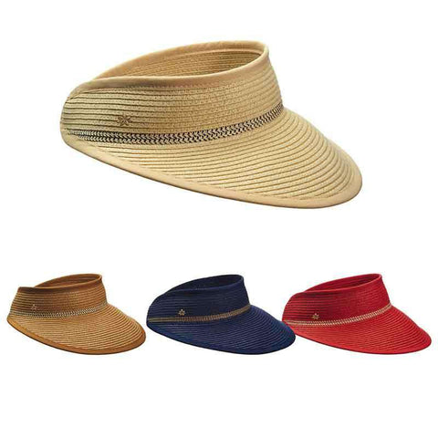 Toyo Sun Visor for Women by Cappelli Straworld
