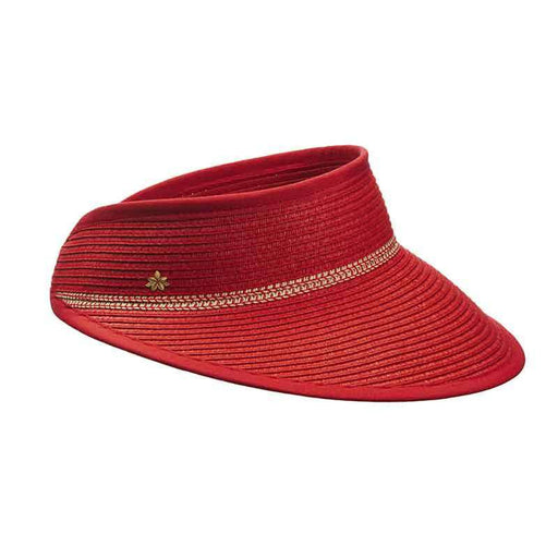 Toyo Sun Visor for Women by Cappelli Straworld - SetarTrading Hats