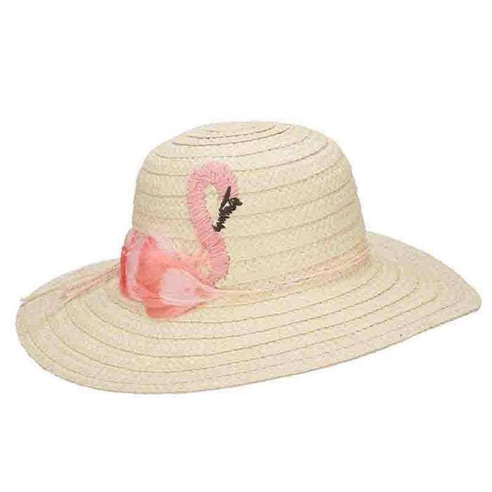 Pink Swan Beach Hat - Cappelli Straworld