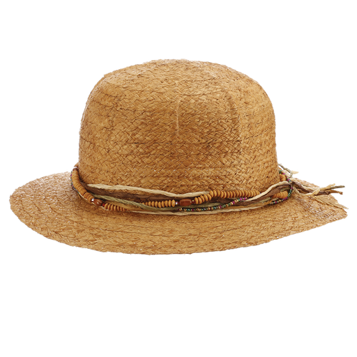 Ladies Safari Straw Pith Helmet - Samara by Cappelli Straworld